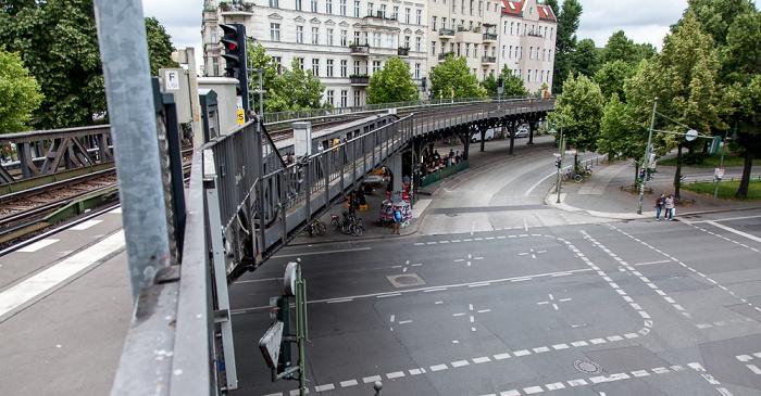 Kreuzberg: Blick vom U-Bahnhof Schlesisches Tor Berlin