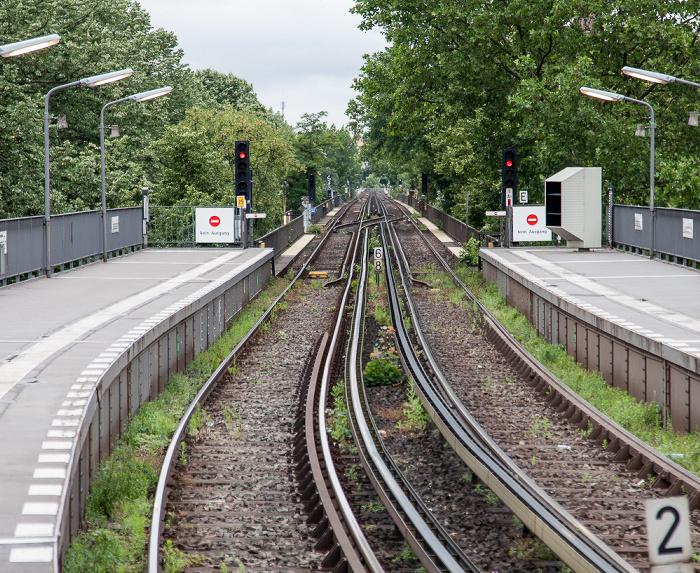 Kreuzberg: U-Bahnhof Schlesisches Tor, Viadukt der Linie U1 Berlin