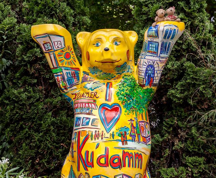 Charlottenburg: Kurfürstendamm - Berliner Bär mit Teddy und Teddine