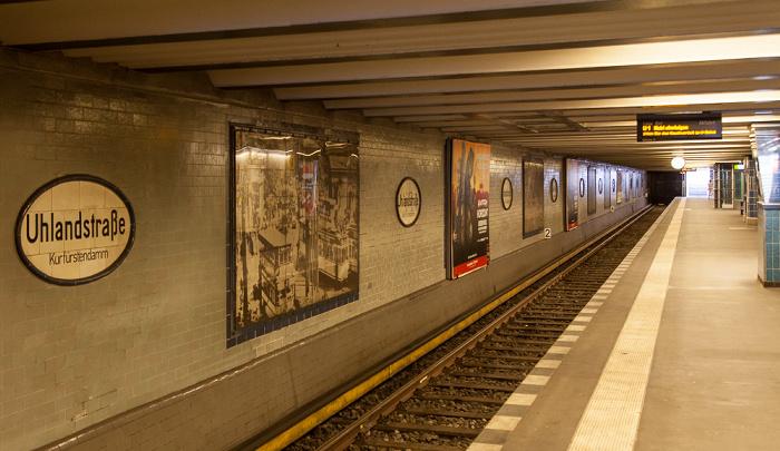 Charlottenburg: U-Bahnhof Uhlandstraße Berlin
