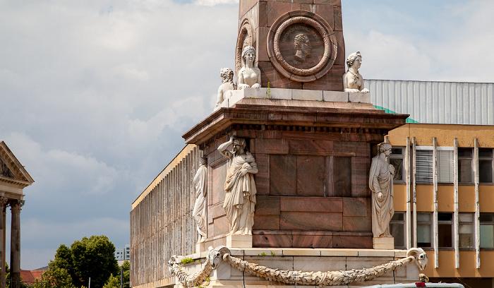 Potsdam Alter Markt: Obelisk Fachhochschule