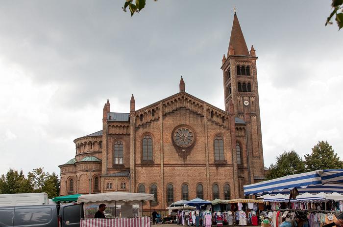 Potsdam Bassinplatz, Peter-und-Paul-Kirche