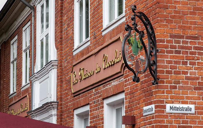 Potsdam Holländisches Viertel: Benkertstraße / Mittelstraße - La Maison du Chocolat