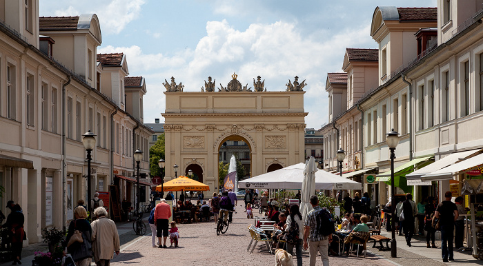 Potsdam Brandenburger Straße, Brandenburger Tor