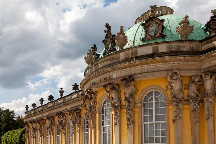 Potsdam Park Sanssouci: Schloss Sanssouci Schloß Sanssouci