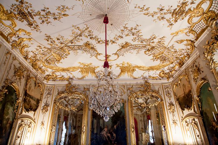 Potsdam Schloss Sanssouci: Konzertzimmer Schloß Sanssouci