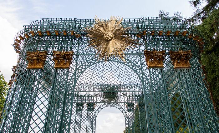Potsdam Park Sanssouci: Schloss Sanssouci - Westlicher Gitterpavillon Schloß Sanssouci