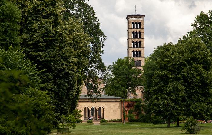 Potsdam Park Sanssouci: Friedenskirche und Campanile