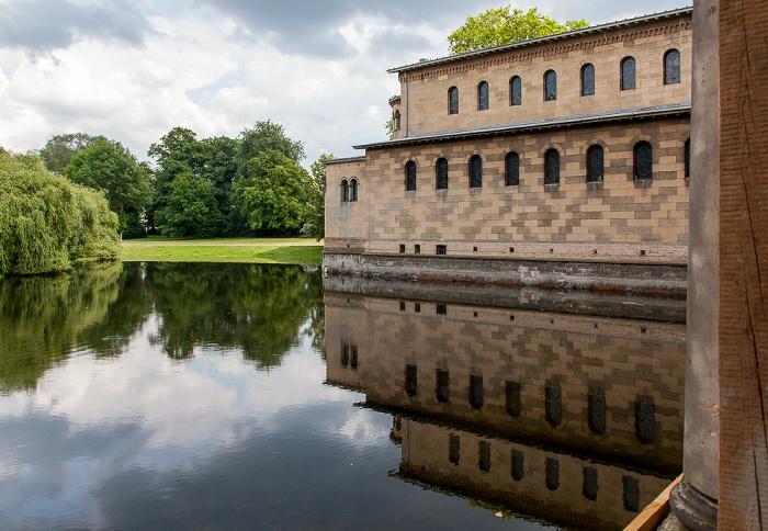 Potsdam Park Sanssouci: Friedensteich und Friedenskirche