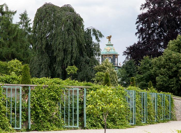 Potsdam Park Sanssouci: Weinbergterassen, Bildergalerie