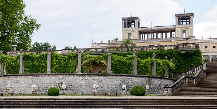 Potsdam Park Sanssouci: Orangerieterrassen, Orangerieschloss (Neue Orangerie)