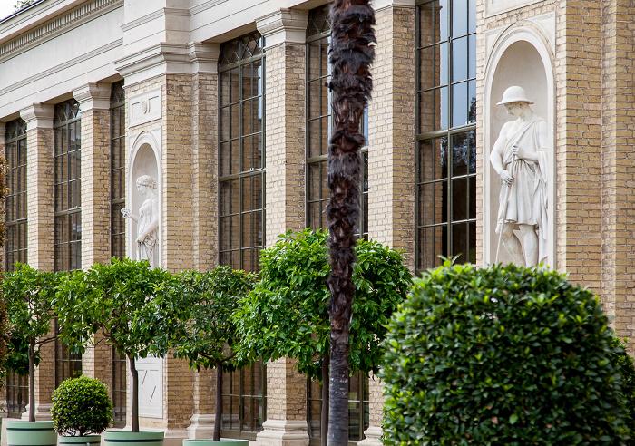 Potsdam Park Sanssouci: Orangerieschloss (Neue Orangerie) - Westliche Pflanzenhalle