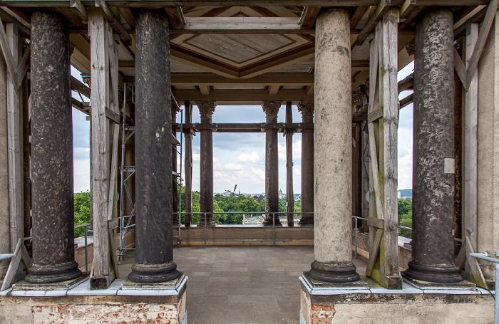 Potsdam Park Sanssouci: Orangerieschloss (Neue Orangerie) - Turmgalerie