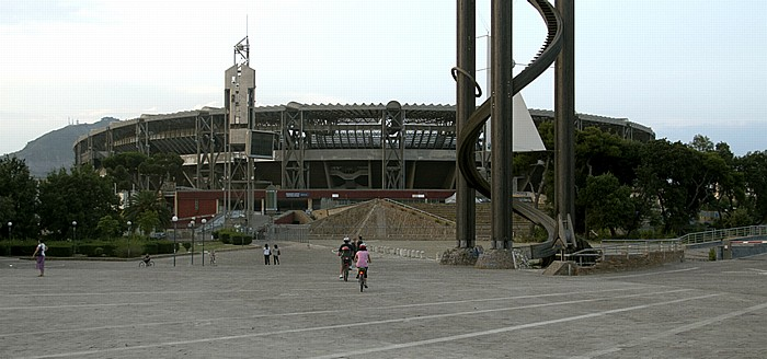 Neapel Fuorigrotta: Stadio San Paolo