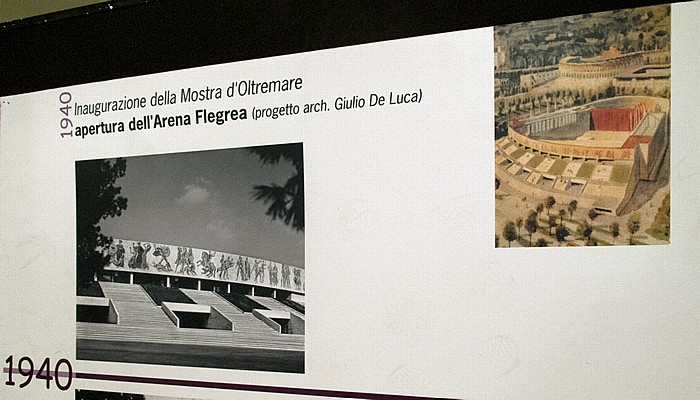 Neapel Arena Flegrea: Bilder von 1940