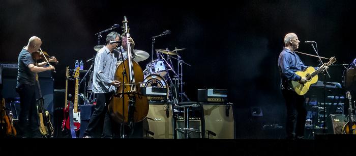 Neapel Arena Flegrea: Mark Knopfler und Band