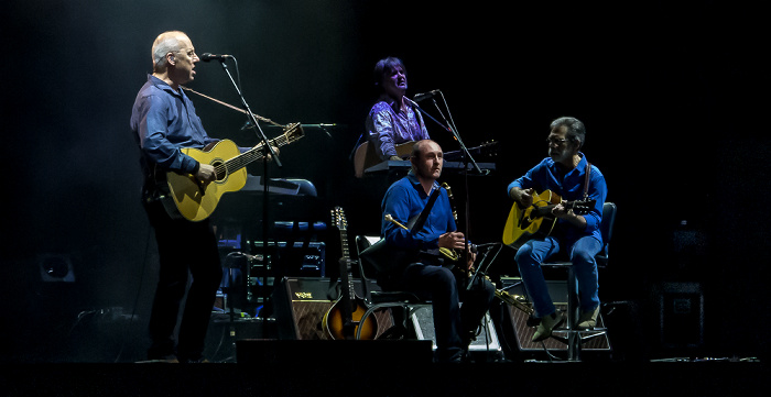 Arena Flegrea: Mark Knopfler Neapel Mark Knopfler, Guy Fletcher, Mike McGoldrick, Richard Bennett
