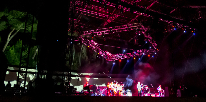 Arena Flegrea: Mark Knopfler und Band Neapel