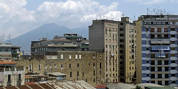 Blick aus dem Hotel Mercure Napoli Garibaldi Neapel