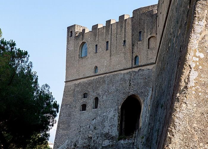 Neapel Vomero: Castel Sant' Elmo