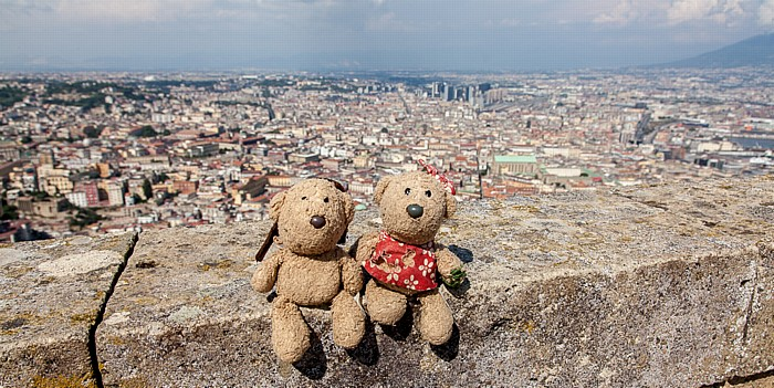 Neapel Castel Sant' Elmo: Teddy und Teddine