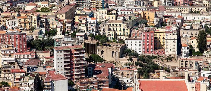 Blick vom Castel Sant' Elmo Neapel