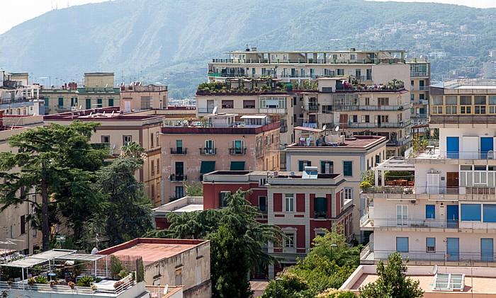 Blick vom Castel Sant' Elmo: Vomero Neapel