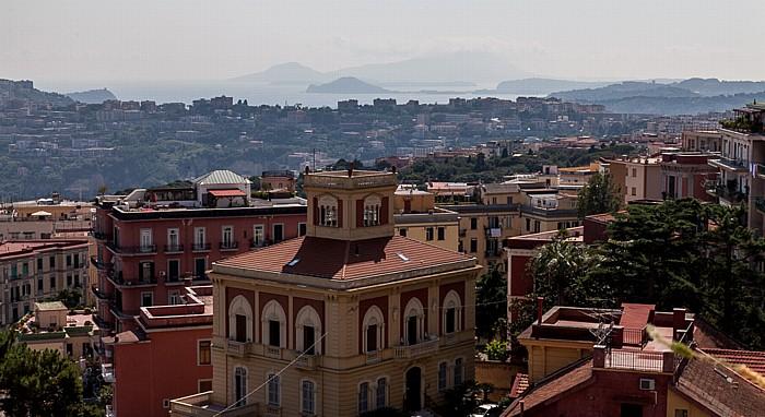 Neapel Blick vom Castel Sant' Elmo Golf von Neapel