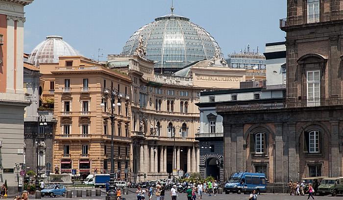 Neapel Centro Storico: Galleria Umberto I Palazzo Reale di Napoli Teatro di San Carlo