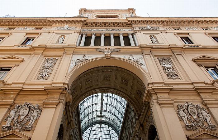 Centro Storico: Galleria Umberto I Neapel