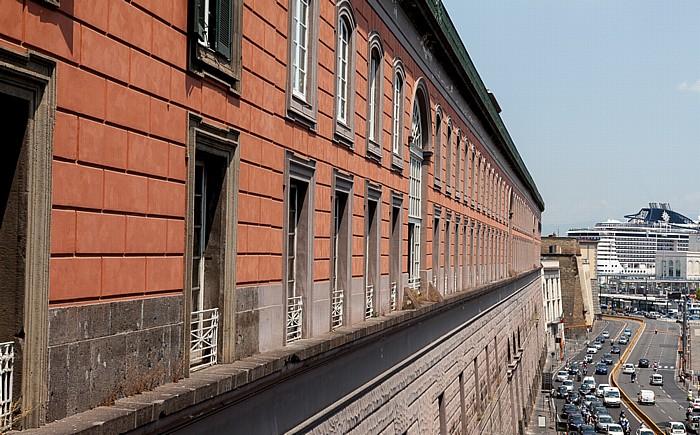 Neapel Centro Storico: Palazzo Reale di Napoli Via Ammiraglio Ferdinand Acton