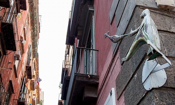 Centro Storico: Quartieri Spagnoli - Via Emanuele de Deo / Via Toledo Neapel