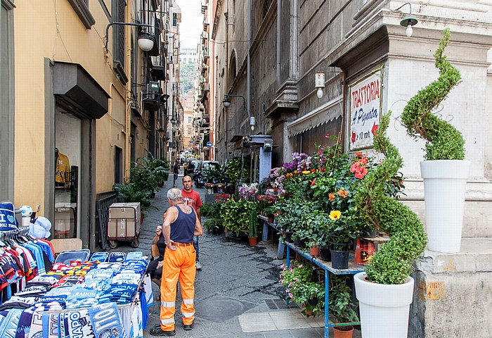 Centro Storico: Quartieri Spagnoli Neapel