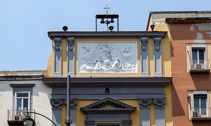 Centro Storico: Chiesa di San Liborio alla Carità Neapel