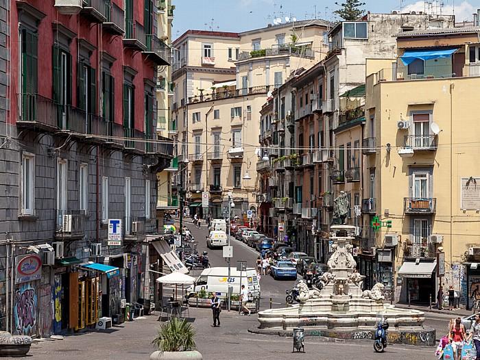 Neapel Centro Storico: Piazza Monteoliveto - Fontana di Monteoliveto