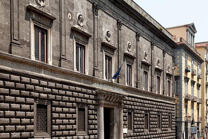 Centro Storico: Chiesa del Gesù Nuovo (Trinità Maggiore) Neapel
