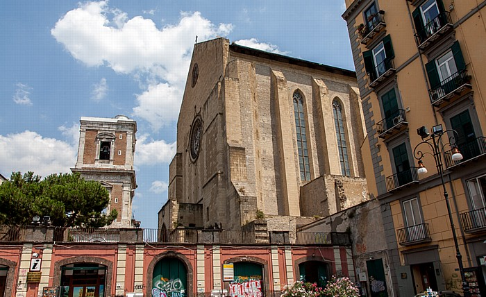 Centro Storico: Basilica di Santa Chiara Neapel