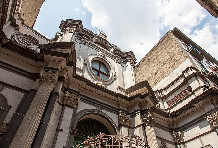 Centro Storico: Via San Biagio dei Librai - Chiesa di San Nicola a Nilo Neapel