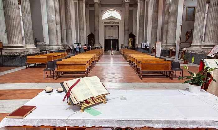 Centro Storico: Basilica della Santissima Annunziata Maggiore Neapel