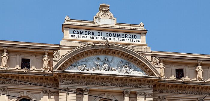 Centro Storico: Palazzo della Borsa Neapel