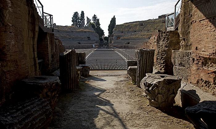 Pozzuoli Centro Storico: Flavisches Amphitheater (Anfiteatro flaviano puteolano)