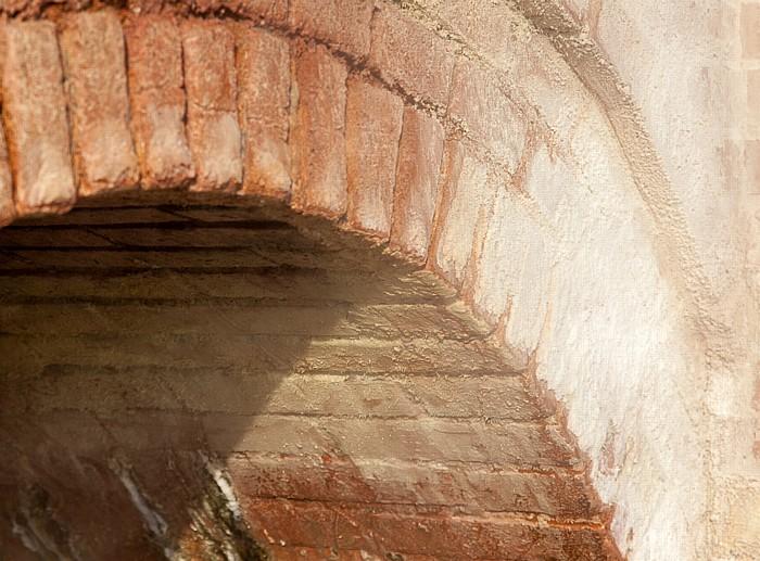 Pozzuoli Phlegräische Felder (Campi Flegrei): Solfatara (Cratere Solfatara) - Stufe Antiche