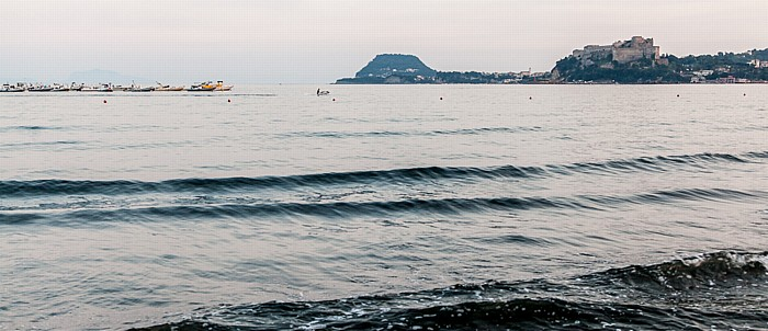 Pozzuoli Golf von Neapel, Penisola flegrea mit dem Capo Miseno