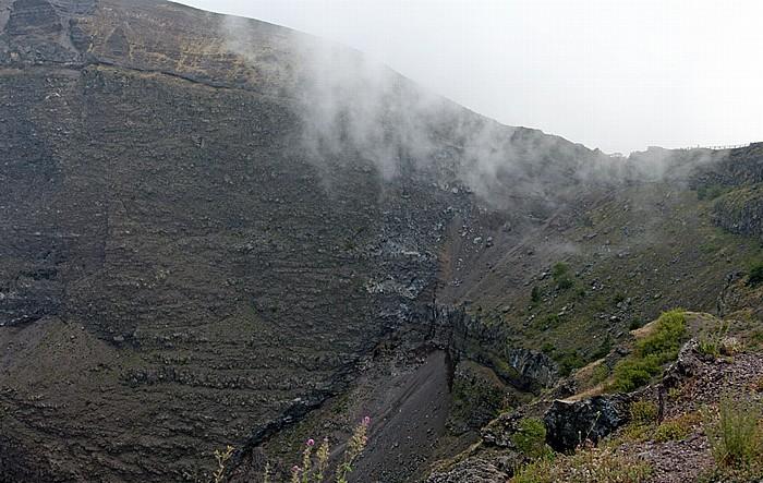 Nationalpark Vesuv (Parco nazionale del Vesuvio): Krater