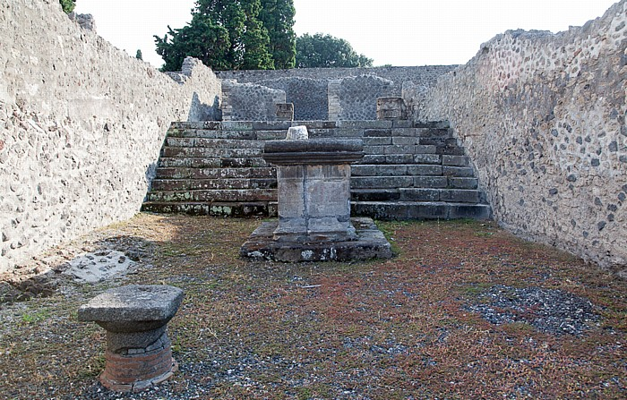 Pompeji Tempel des Äskulap
