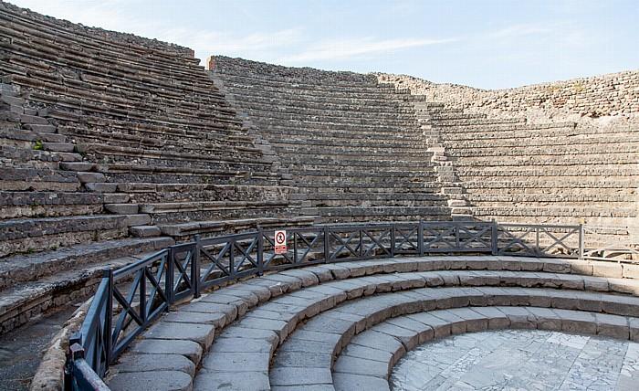 Pompeji Kleines Theater (theatrum tectum)