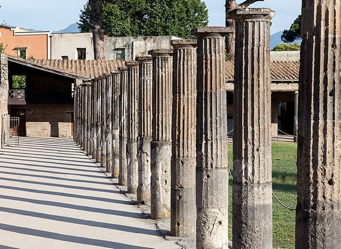 Pompeji Quadriportico del Teatri (Gladiatorenkaserne)