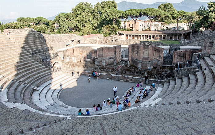 Pompeji Großes Theater