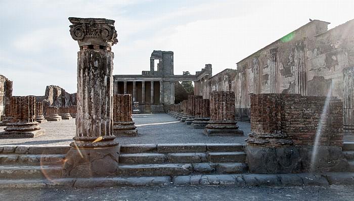 Pompeji Forum: Basilika