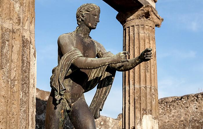 Pompeji Forum: Tempel des Apollon